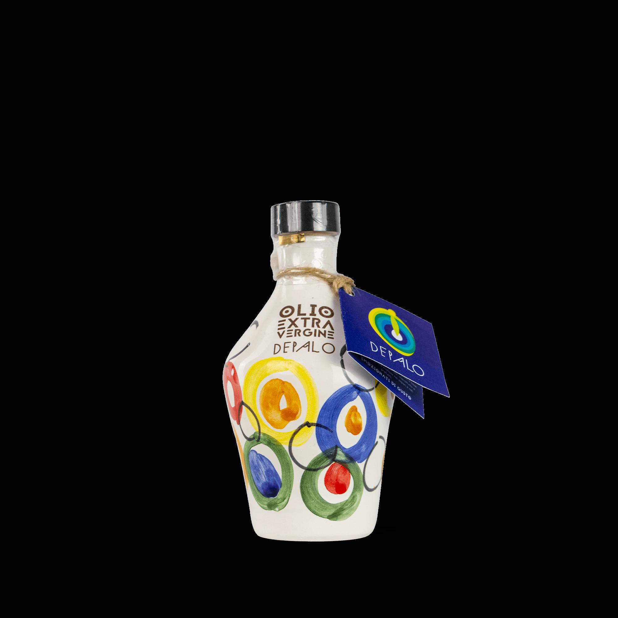 Orcio in ceramica Danae olio extravergine di oliva di Puglia