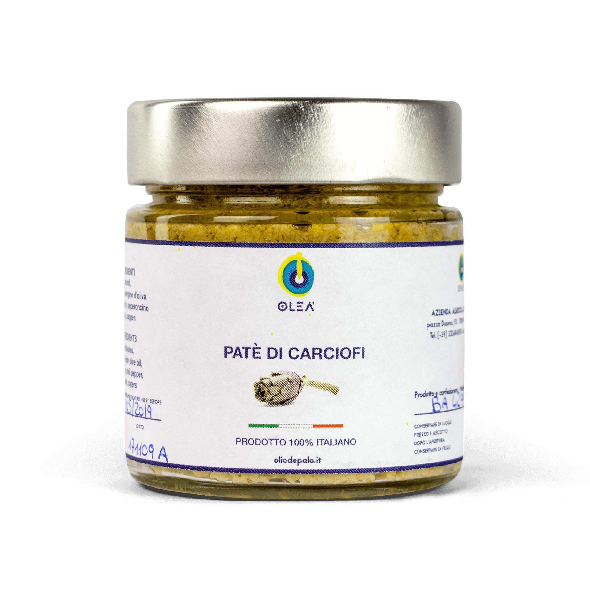 Paté di carciofi Olio Depalo prodotti tipici di Puglia