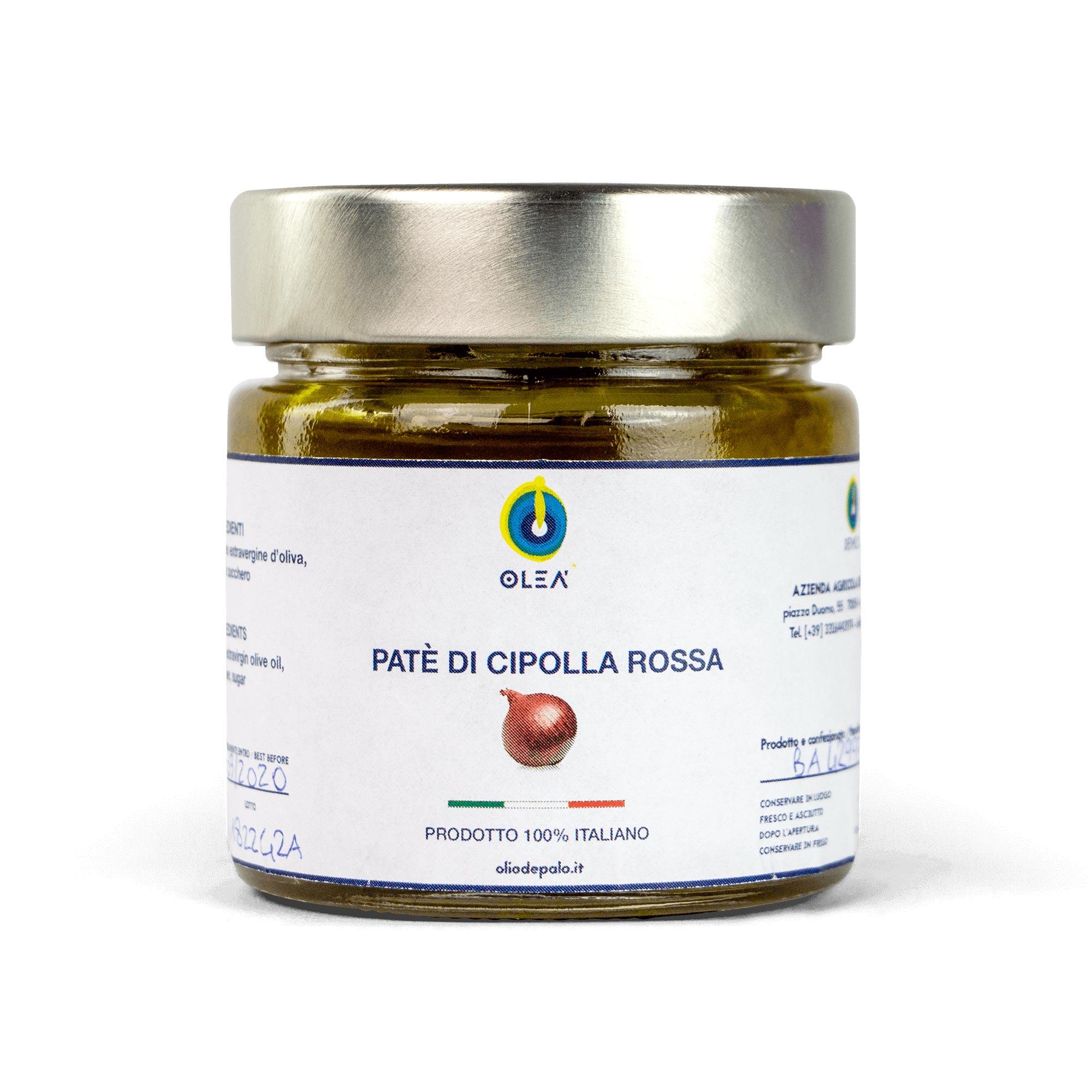 paté di cipolla rossa Olio Depalo prodotti tipici Puglia